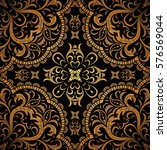 Seamless Floral Pattern On A...