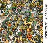 cartoon cute doodles hand drawn ... | Shutterstock .eps vector #576572950