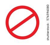 no sign. vector. | Shutterstock .eps vector #576596080