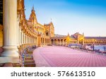 spain square  plaza de espana   ... | Shutterstock . vector #576613510