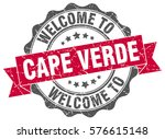 cape verde. welcome to cape... | Shutterstock .eps vector #576615148