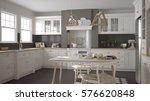 scandinavian classic white... | Shutterstock . vector #576620848