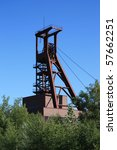dead industry coal mine | Shutterstock . vector #57662251