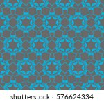 geometric shape abstract vector ... | Shutterstock .eps vector #576624334