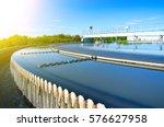 modern urban wastewater... | Shutterstock . vector #576627958