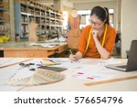 authentic image of asian... | Shutterstock . vector #576654796