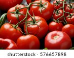 Red Tomatoes Food Background ...