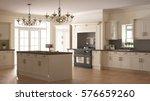 classic kitchen  scandinavian... | Shutterstock . vector #576659260
