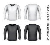 male sweatshirt isolated on... | Shutterstock .eps vector #576671458