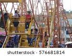 nahuala  guatemala   circa... | Shutterstock . vector #576681814