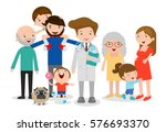 family doctor vector... | Shutterstock .eps vector #576693370