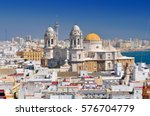 view from torre tavira tower to ... | Shutterstock . vector #576704779