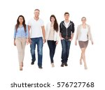 a group of multi ethnic people... | Shutterstock . vector #576727768