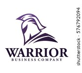 warrior logo | Shutterstock .eps vector #576792094