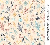 forest vector pattern.  | Shutterstock .eps vector #576800179