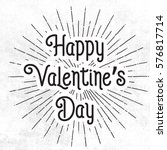 happy valentines day  abstrac...   Shutterstock .eps vector #576817714