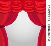 vector illustration of theater... | Shutterstock .eps vector #576822928