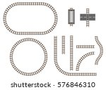 vector railroad and railway...