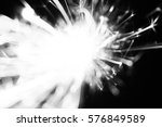 christmas sparkler abstract... | Shutterstock . vector #576849589