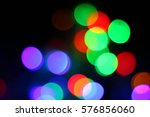 abstract  colorful bokeh... | Shutterstock . vector #576856060