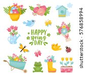 Hello Spring Greeting Card....
