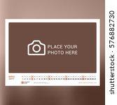 calendar template for march... | Shutterstock .eps vector #576882730