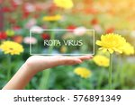 rota virus word on the white... | Shutterstock . vector #576891349