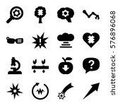 innovation icon. set of 16... | Shutterstock .eps vector #576896068