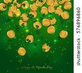 money patricks day | Shutterstock .eps vector #576896860
