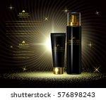 cosmetics luxury beauty series  ... | Shutterstock .eps vector #576898243
