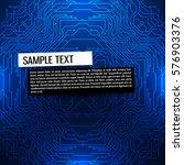 computer circuit board | Shutterstock .eps vector #576903376