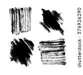 grunge hand drawn white... | Shutterstock .eps vector #576926290