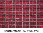 small red dusty exterior tiles... | Shutterstock . vector #576938593