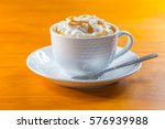 cream coffee | Shutterstock . vector #576939988