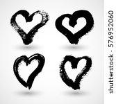 vector illustration of abstract ... | Shutterstock .eps vector #576952060