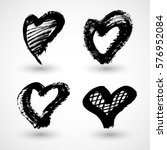 vector illustration of abstract ... | Shutterstock .eps vector #576952084