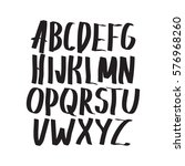 graphic font for your design.... | Shutterstock .eps vector #576968260