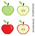 vector illustration of red and... | Shutterstock .eps vector #576991510