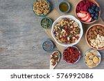 paleo style breakfast  gluten... | Shutterstock . vector #576992086