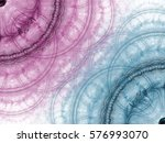 abstract fractal background.... | Shutterstock . vector #576993070