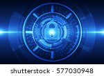 abstract security digital... | Shutterstock .eps vector #577030948