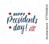 happy president's day vintage... | Shutterstock .eps vector #577050814