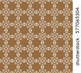 seamless ethnic geometric... | Shutterstock .eps vector #577065304