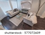 luxury nicely decorated modern...   Shutterstock . vector #577072609