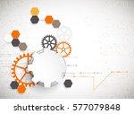 vector illustration  hi tech...   Shutterstock .eps vector #577079848