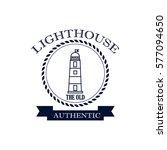 vintage nautical label | Shutterstock .eps vector #577094650