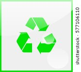 recycle symbol. | Shutterstock .eps vector #577106110
