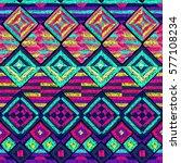 ethnic pattern. tribal doodles...   Shutterstock .eps vector #577108234