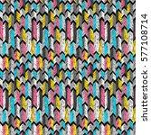 sketch arrows pattern. tribal... | Shutterstock .eps vector #577108714