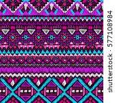 fabric pattern. tribal ornament....   Shutterstock .eps vector #577108984